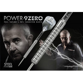 Phil Taylor Power 9ZERO Steel Darts