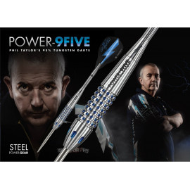 Phil Taylor Power 9five Steel Darts