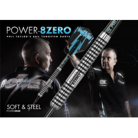 Phil Taylor Power 8ZERO Steel Darts
