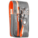 DAYTONA WALLET Darts Etui grey/orange