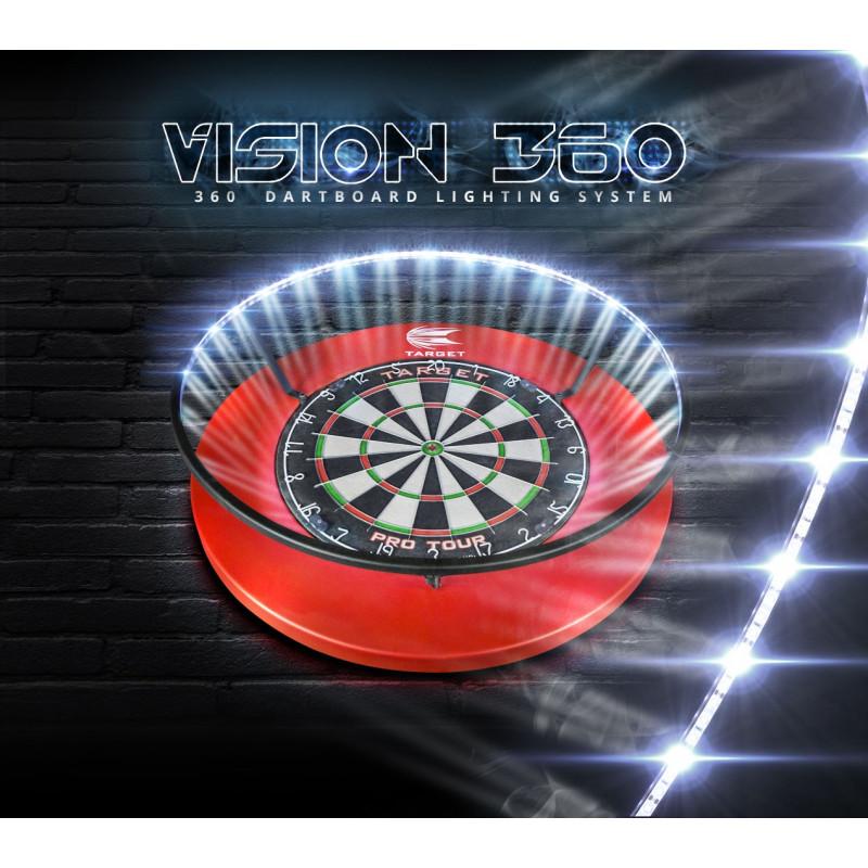 Dartscheibe Beleuchtung | Target Vision 360 Lighting System Dartboard Beleuchtung