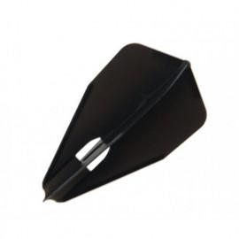 L-Style Flight Bullet mit Loch Black