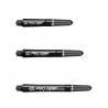 Pro Grip Spin Shaft Black Medium