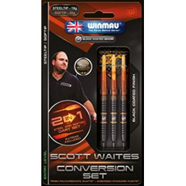 Winmau Scott Waites Conversion Set Steel 19g  -Soft 20g