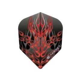Target Vision Red Fire on Grey Flame Flights