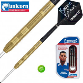 UNICORN Steel Dart Condenter Golden Keegan Brown in 22 gr.