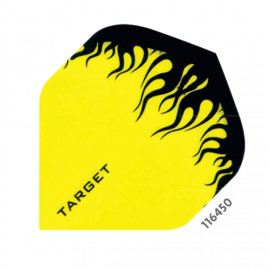 Yellow/Black Flame Pro 100 Micron Flight