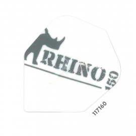 White Rhino Logo  150 Micron