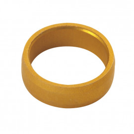 Slot Lock Rings Gold
