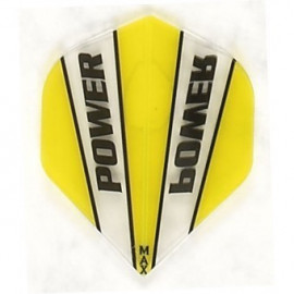 Max Power Flight MX9 yellow/clear