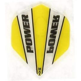 Max Power Flight MX9 yellow/clear